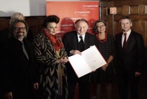 Kokoschka Preis Peter Weibel